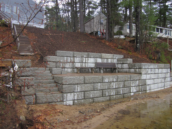 R Pepin Amp Sons Concrete Aggregate Barriers Patios